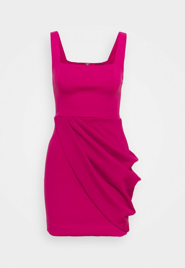 ELECTRIC PARADISE MINI DRESS - Vestito elegante - fuschia