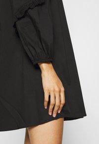 JDY - JDYENYA LIFE SHORT DRESS - Skjortekjole - black - 5