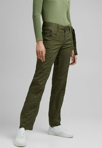 Esprit - PLAY - Trousers - khaki green - 5