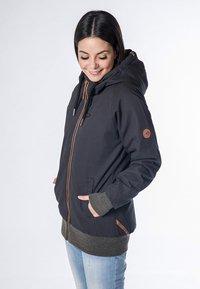 alife & kickin - JOHANNA  - Light jacket - black - 3