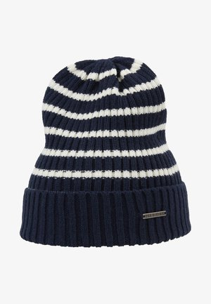 Beanie - white/dark blue