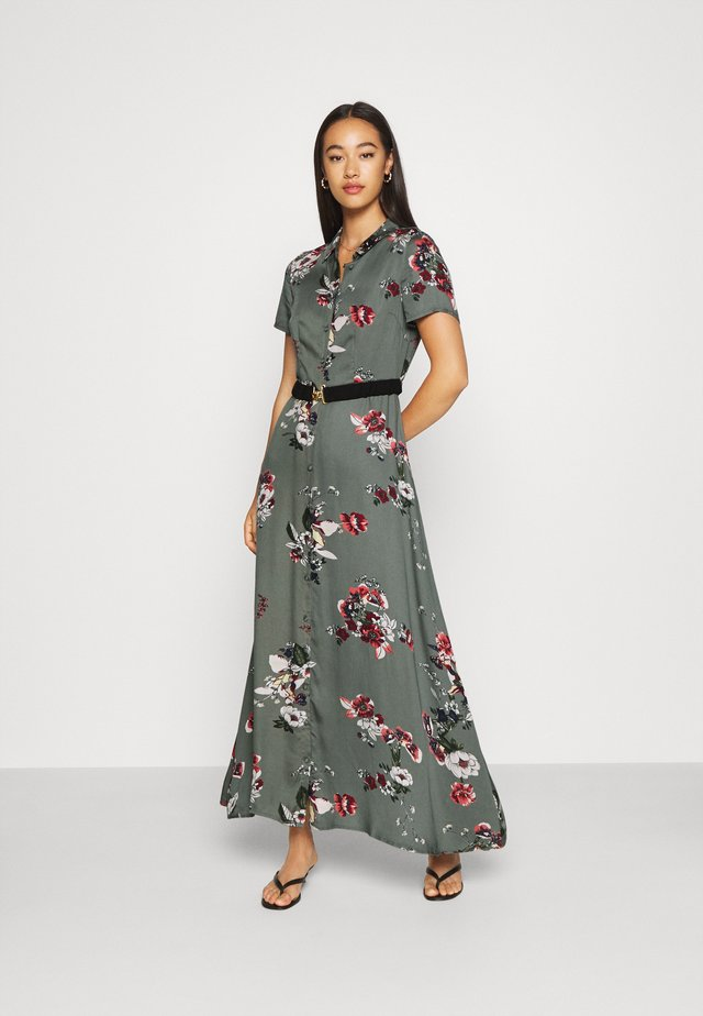 VMLOVELY ANCLE DRESS - Maxikjoler - laurel wreath