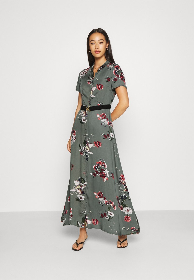 Vero Moda - VMLOVELY ANCLE DRESS - Maxikleid - laurel wreath