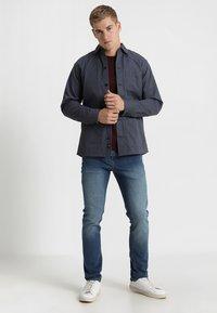 Solid - RYDER - Straight leg jeans - blue denim - 1