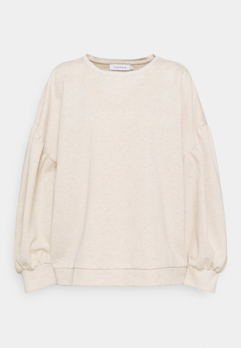 Lounge Nine - LNCESARINEOZ  - Sweatshirt - pastel parchment melange