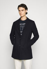 Isaac Dewhirst - LARGE OPTION - Short coat - dark blue - 0