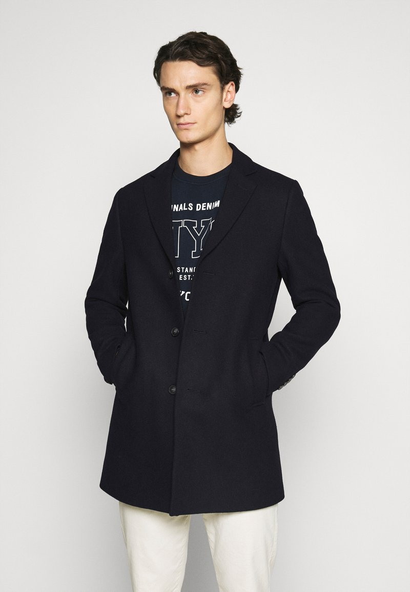 Isaac Dewhirst - LARGE OPTION - Short coat - dark blue