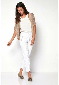 TONI - Trousers - 80 white - 1
