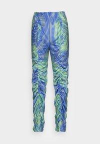 HOSBJERG - Kalhoty - mermaid blue/green - 3