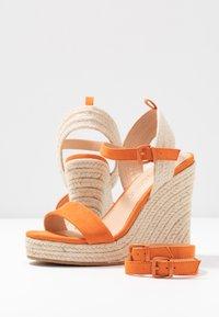 Even&Odd - Sandalen met hoge hak - orange - 7