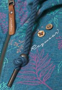 Ragwear - PAYA FLOWERS - Cardigan - blue - 2