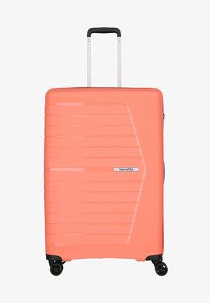 Wheeled suitcase - koralle