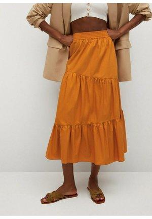 A-line skirt - naranja