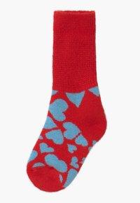Happy Socks - KIDS HEART COZY  - Socks - red/blue - 1