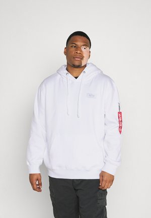 BACK PRINT HOODY EXCLUSIV - Sweat à capuche - weiss