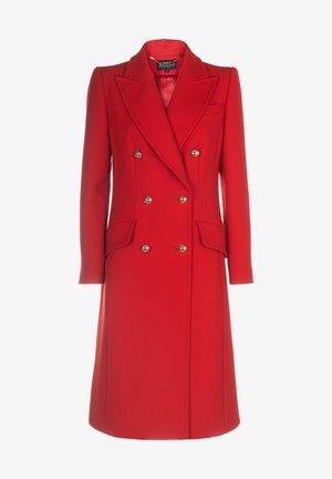 SUONO - Classic coat - rosso