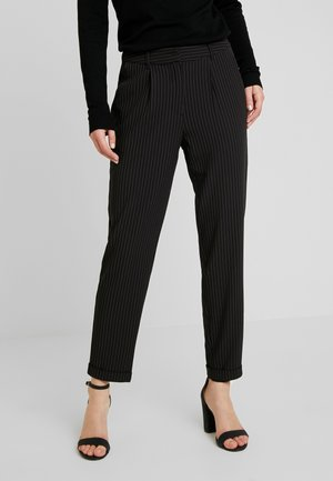 VMCLARA MAYA PANT - Trousers - black/snow white