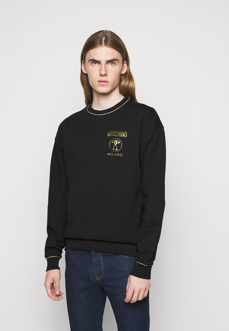 MOSCHINO - CREWNECK - Sweatshirt - black