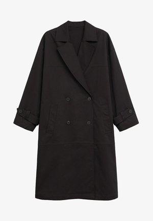 Trenchcoat - schwarz