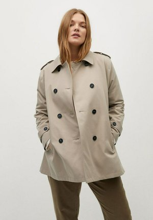SNOW8 - Trenchcoat - beige