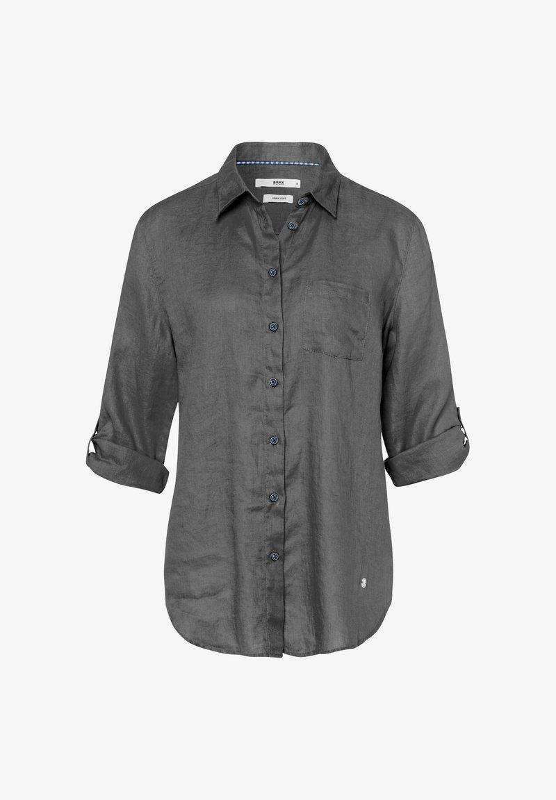 BRAX - STYLE VIOLA - Button-down blouse - navy
