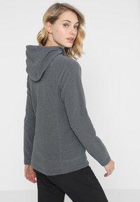 The North Face - MEZZALUNA - Fleece jacket - black - 2