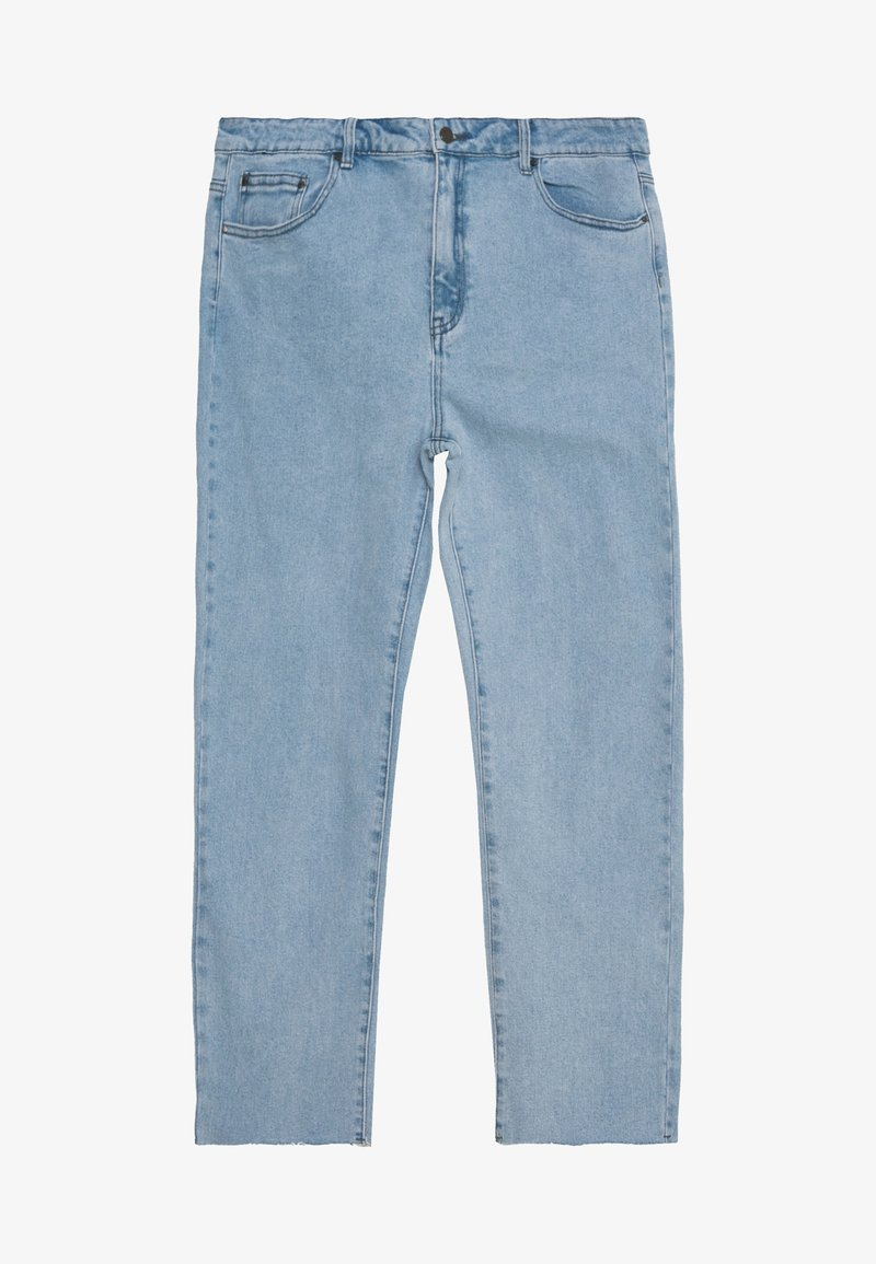 Lost Ink Plus - STRAIGHT EARL - Straight leg jeans - light denim