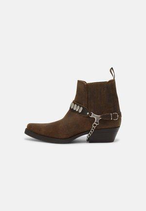 UNISEX - Kotníkové boty - whisky antique