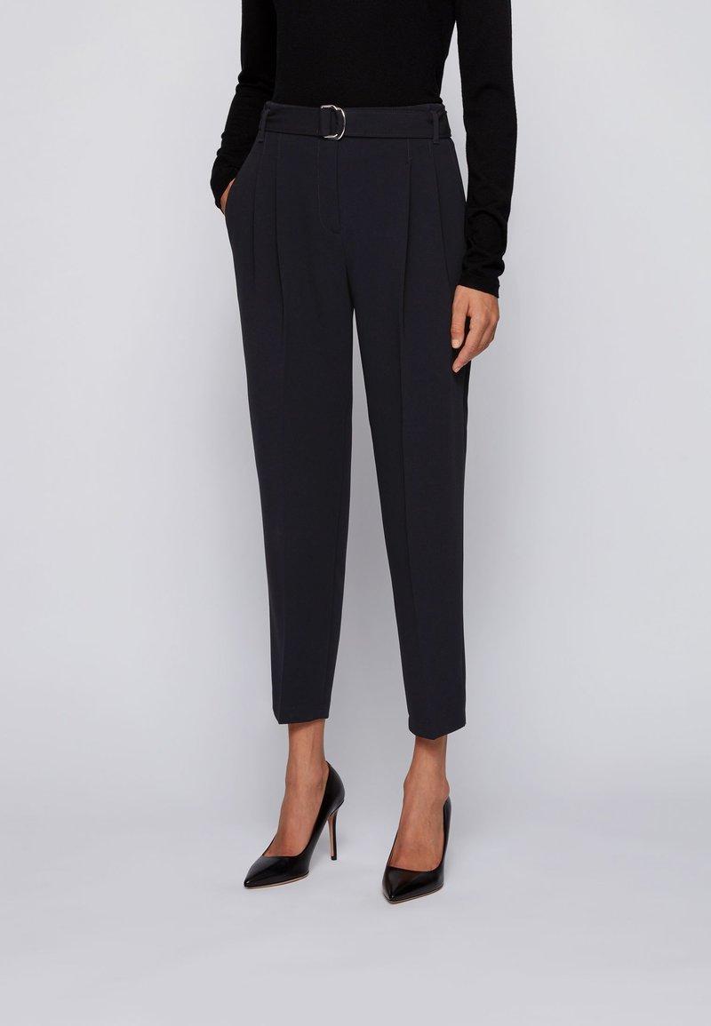 BOSS - TAPIA - Trousers - black
