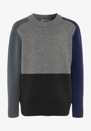 BUZZ - Strickpullover - mottled grey