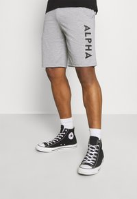 Alpha Industries - LIGHT - Teplákové kalhoty - grey heather - 0