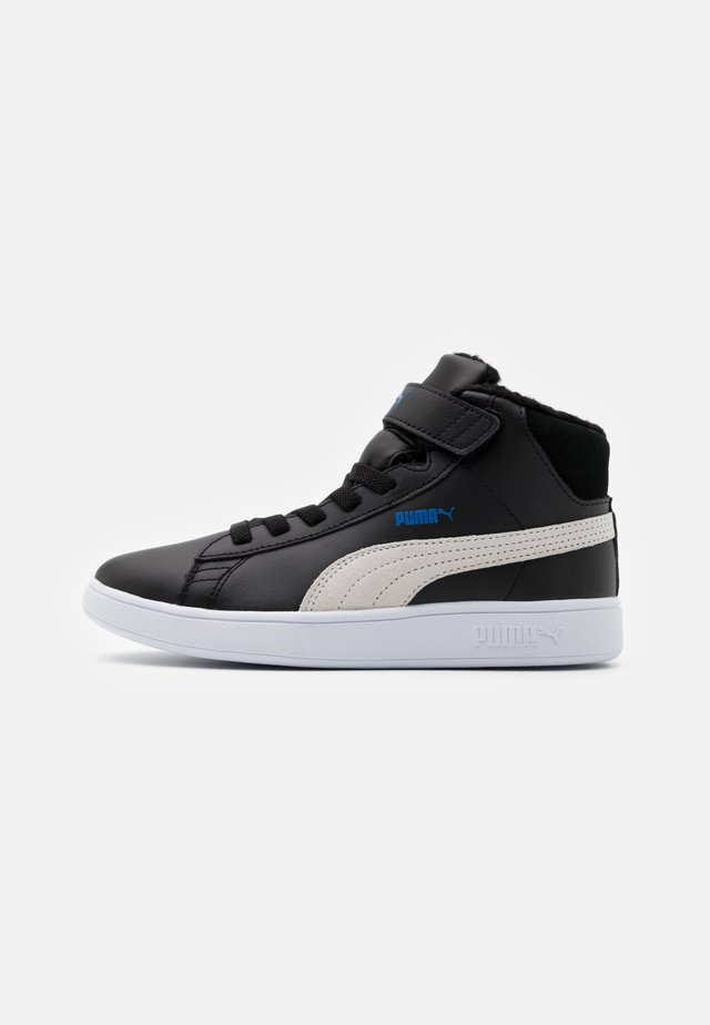 SMASH MID - Sneakers hoog - black/white