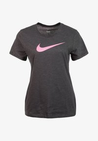 Nike Performance - DRY TEE CREW - Print T-shirt - grey - 0
