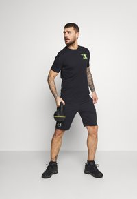 Under Armour - ROCK WRECKING CREW - T-shirt imprimé - black - 1