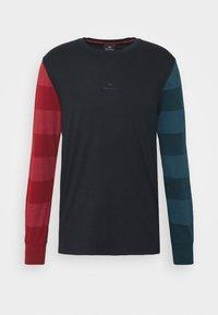 PS Paul Smith - Top sdlouhým rukávem - dark blue/red/green - 0