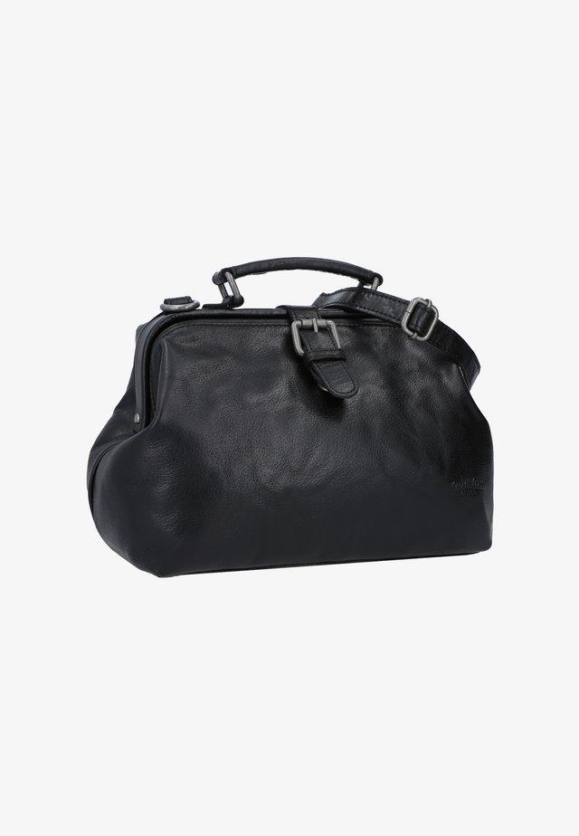 dark brown - Käsilaukku - black