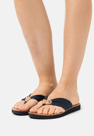 FOOTBED BEACH - T-bar sandals - desert sky