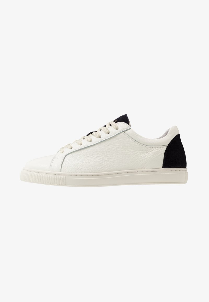 Selected Homme - SLHDAVID CONTRAST TRAINER - Trainers - dark navy