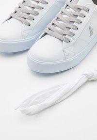 Polo Ralph Lauren - EVANSTON - Tenisky - white/silver metallic/silver - 5