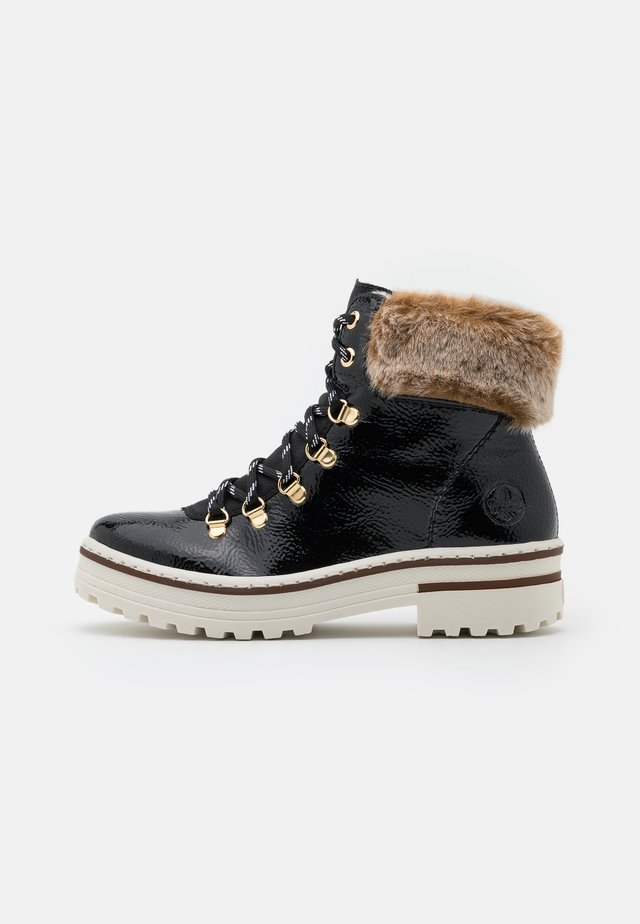 Winter boots - black/steppe