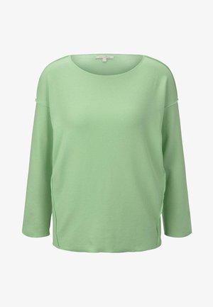 T-SHIRT GERIPPTES OVERSIZED SHIRT - Jumper - soft neo green