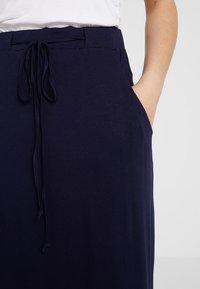 Dorothy Perkins - SKIRT - Maxi skirt - navy - 4
