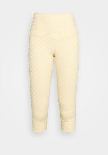 LUXE CAPRI - Leggings - pale vanilla/coconut milk