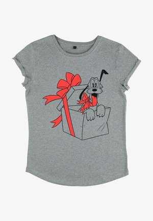 PLUTO - T-shirt med print - melange grey