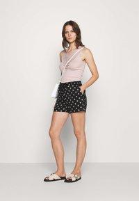 s.Oliver - Shorts - black - 1