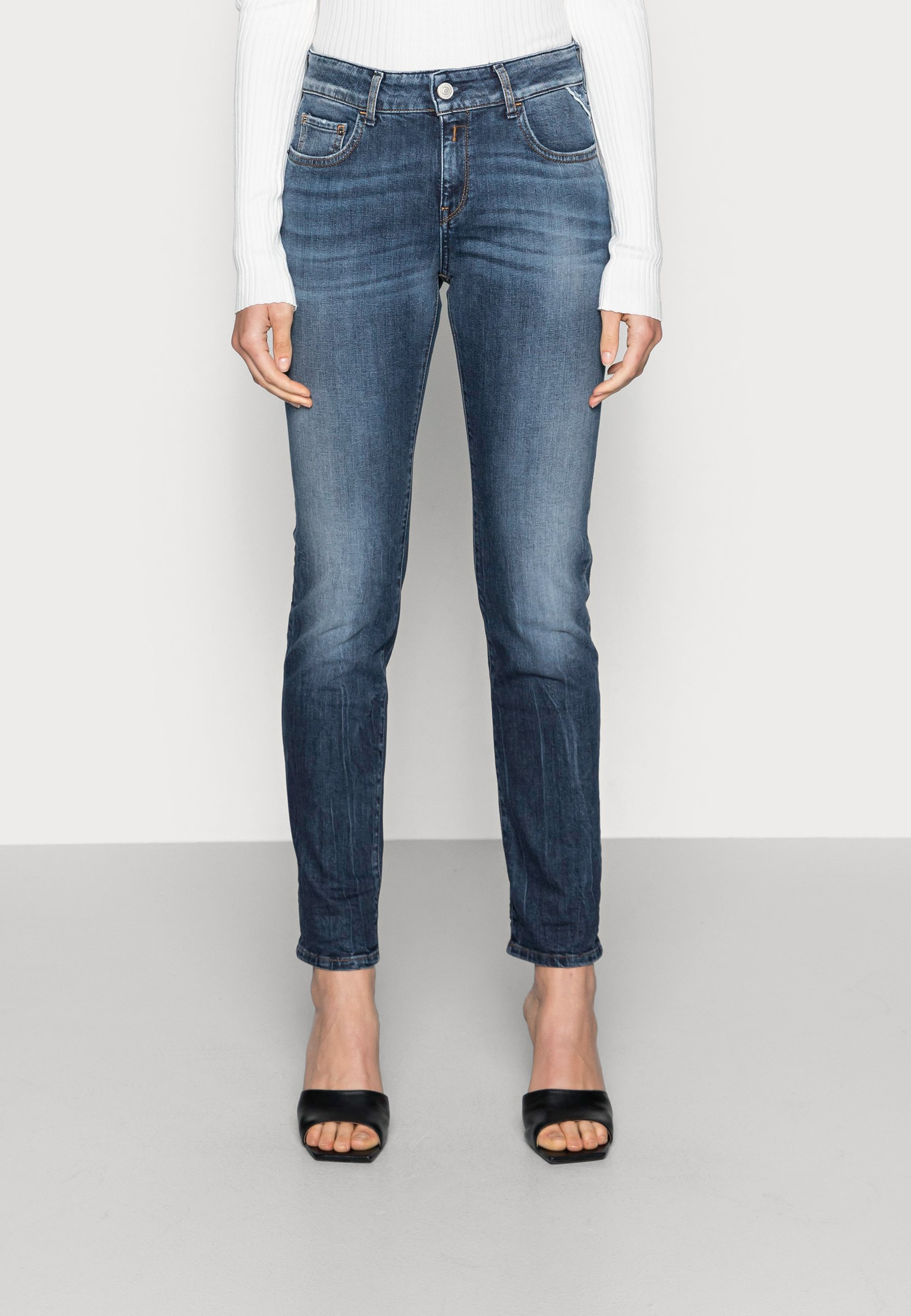 Damer FAABY PANTS - Jeans Slim Fit