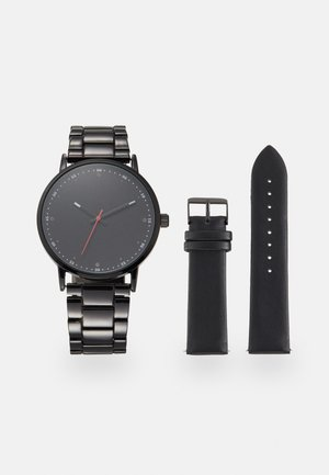 SET - Klokke - black
