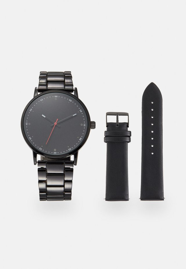 SET - Uhr - black