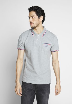 TIPPING RUGGER - Polo - grey melange