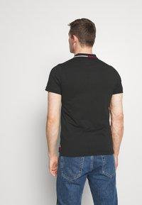 Tommy Hilfiger - COLLAR - Polo shirt - black - 2